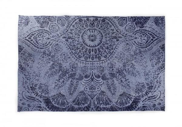 Teppich 'Andhra' , handbedruckt, L 200 cm, B 140 cm