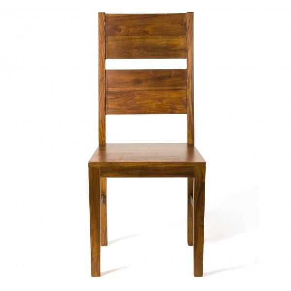 Stuhl, braun, T 45 cm, B 45 cm, H 110 cm