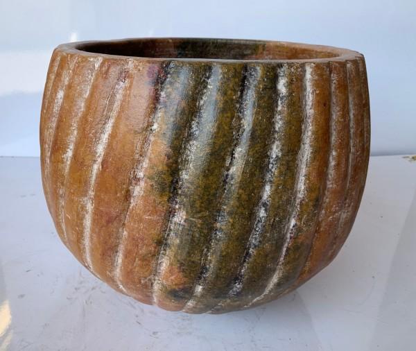 Pflanztopf 'Aspiral', natur, Ø 43 cm, H 41 cm