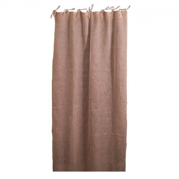 """Leinen-Vorhang """"Voile"""", mauve, B 105 cm, L 245 cm"""