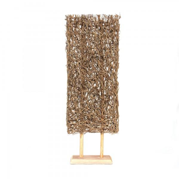 Teepflanzen-Objekt auf Ständer, natur, T 22 cm, B 60 cm, H 170 cm