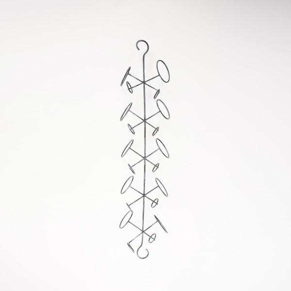 """Flaschenhalter """"Crossed"""", aus Metall, B 19 cm, H 98 cm"""