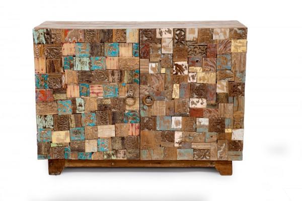 Sideboard 'Meru', multicolor, T 40 cm, B 110 cm, H 80 cm