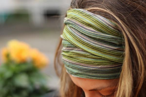 Haarband 'Ohio', oliv, T 29 cm, B 54 cm