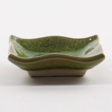 Ablage, grün, L 9 cm, B 7 cm