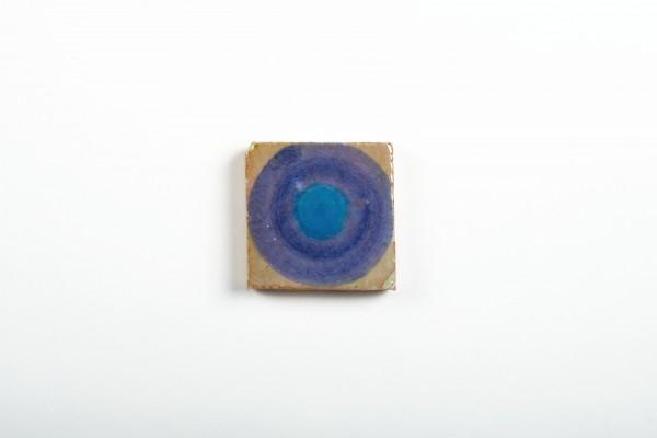 Kachel 'Rond', T 5 cm, B 5 cm, H 1 cm