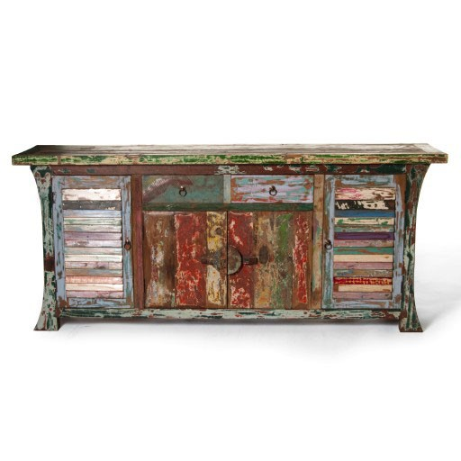 "Sideboard ""Sampan"", multicolor, T 45 cm, B 180 cm, H 77 cm"
