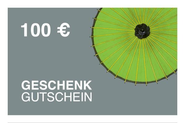 100 € Online-Geschenkgutschein