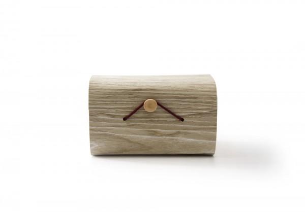 Box 'Quetto' mit Knopfverschluss, T 9 cm, B 9 cm, H 14,5 cm