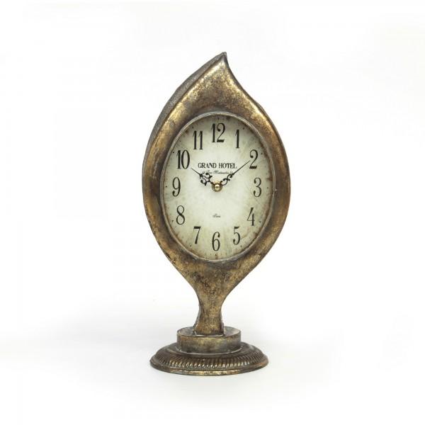 """Uhr """"Clock"""", aus Metall, L 15 cm, B 18 cm, H 40 cm"""