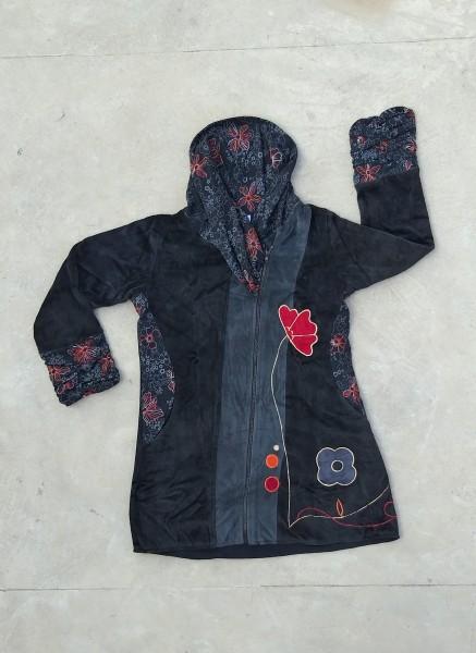 Jacke 'Florido', schwarz, grau