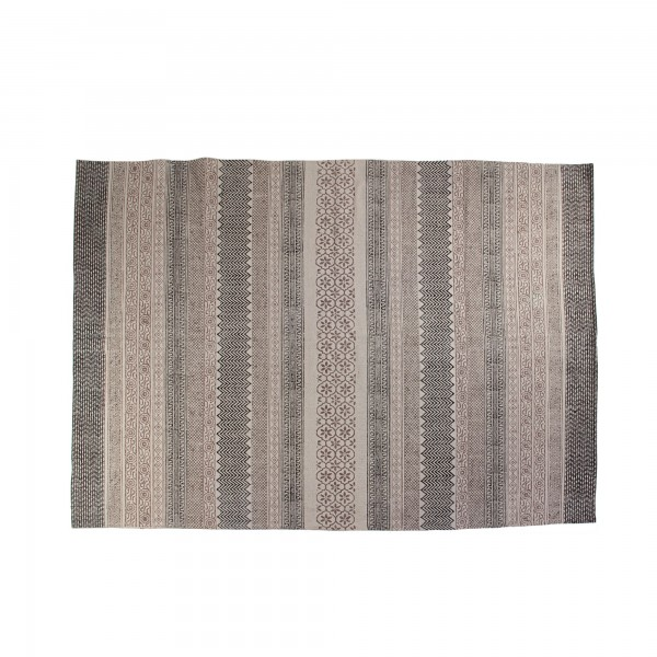 Teppich 'Kampur', rot, blau, creme, T 140 cm, B 200 cm
