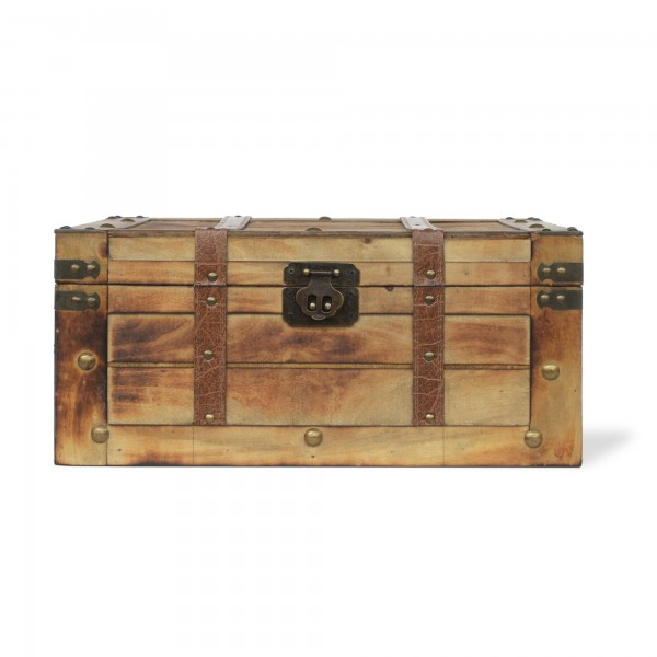 Koffertruhe 'Jipe' L, natur, T 45 cm, B 30 cm, H 20 cm