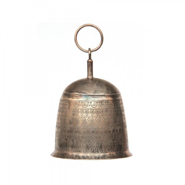 "Glocke ""Punkte"", aus Metall, Ø 11 cm, H 16 cm"