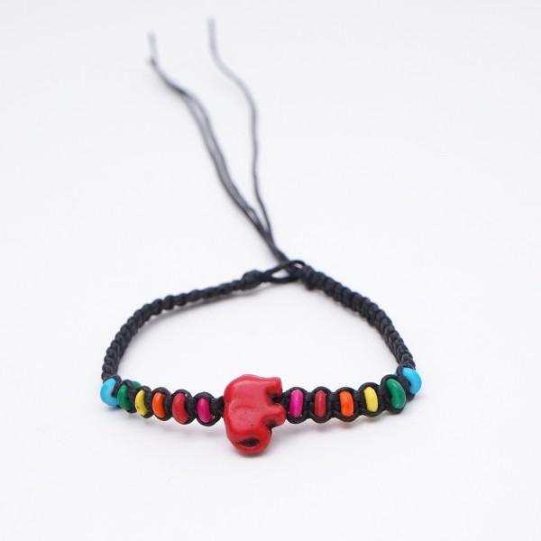 "Armband ""Carrie"", handgefertigt, multicolor"