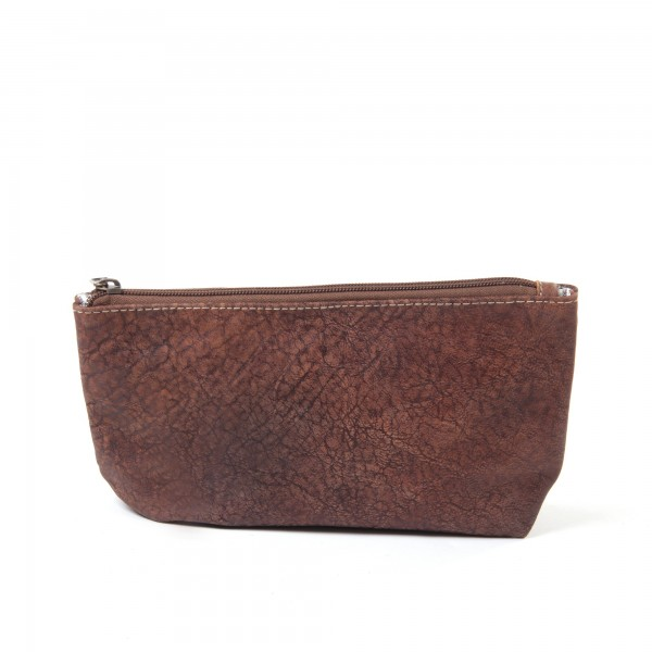 "Kulturtasche ""Arabica"", braun, aus Leder, B 27 cm, H 16 cm"