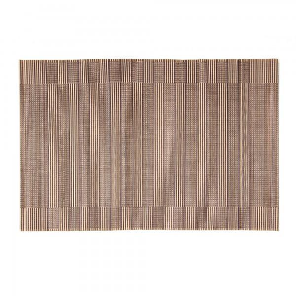 Tischset aus Bambus, beige/braun, L 33 cm, B 48 cm