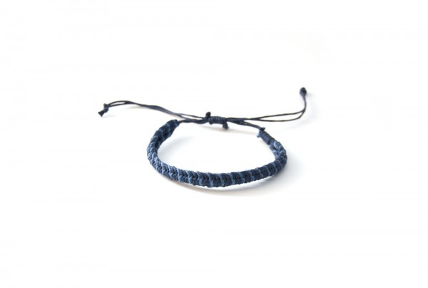 Armband 'Temperance', blau, lila, T 4,5 cm, B 4,5 cm, H 0,5 cm