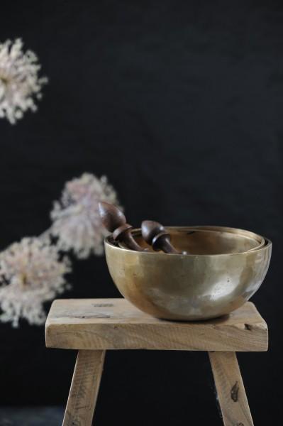 """Klangschale """"jam bowl"""", bronze, H 9 cm, Ø 16 cm"""