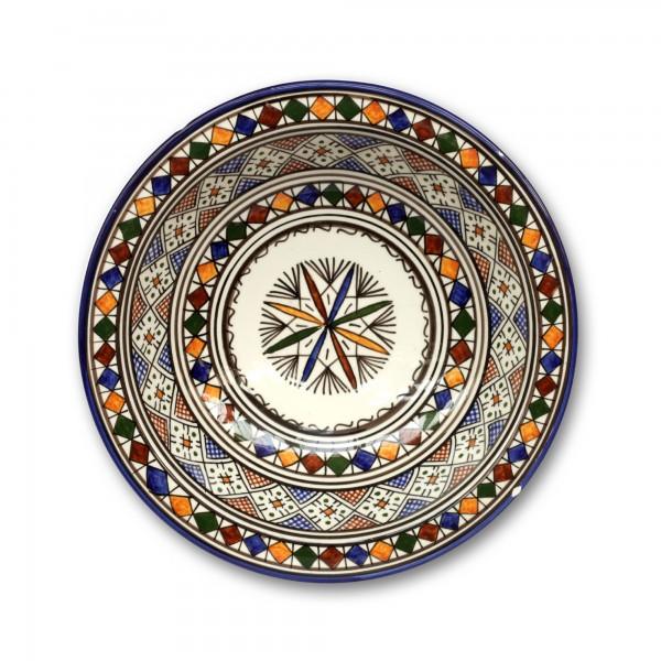 Zierkeramikteller 'Amazigh', Ø 28 cm, H 6,5 cm
