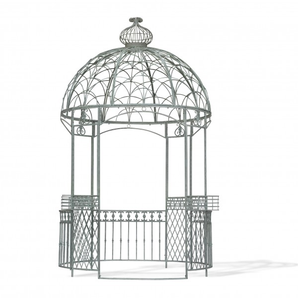 Pavillon 'Olivier', weiß, Ø 275 cm, H 372 cm
