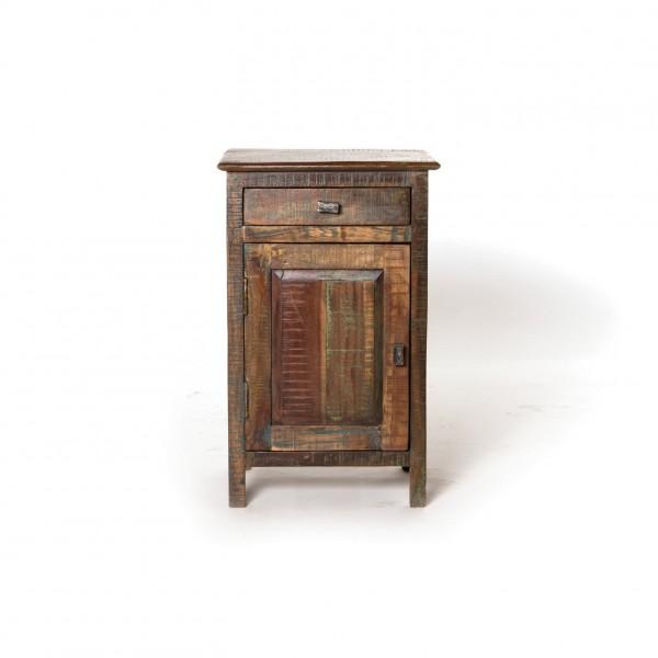 Nachttischchen 'Hove' (Griff rechts), L 30 cm, B 40 cm, H 65 cm