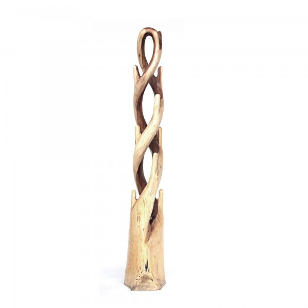 Garderobenständer 'Ngari', natur, Ø 35 cm, H 190 cm