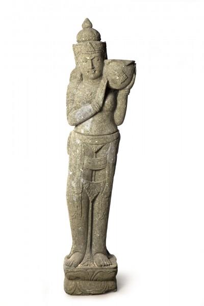 Göttin 'Tara', natur, T 40 cm, B 25 cm, H 150 cm