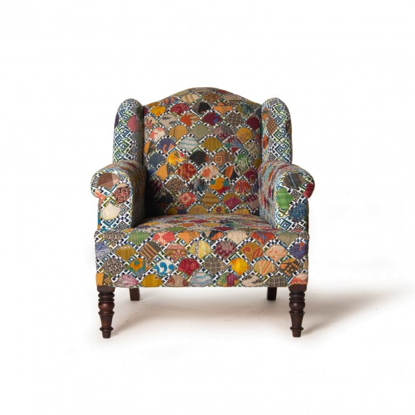 """Sessel """"Patch"""", multicolor, L 69 cm, B 70 cm, H 90 cm"""