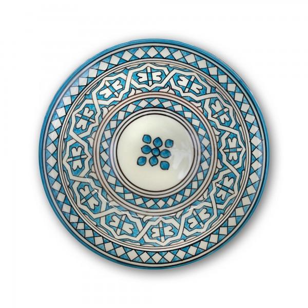 Zierkeramikteller 'Mediterane', Ø 28 cm, H 6,5 cm