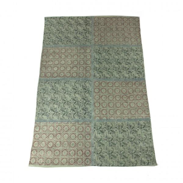 """Teppich """"Sikkim"""", handbedruckt, L 200 cm, B 140 cm"""