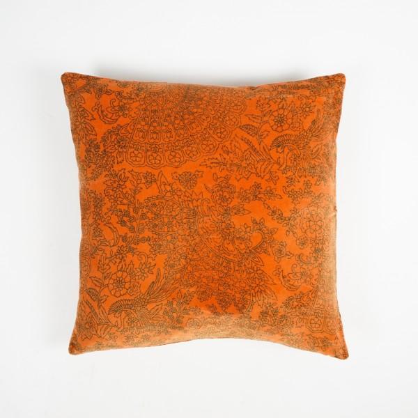 "Kissenhülle ""Maroc"", orange, L 50 cm, B 50 cm"