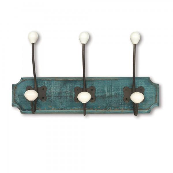 3er Wandhaken, H 21 cm, B 39 cm, T 10 cm