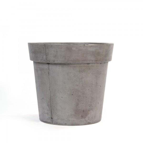 Übertopf 'Linsdorp' M, grau, Ø 45 cm, H 40 cm