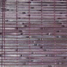 Rollo Bambus, dunkelbraun, L 200 cm, B 90 cm