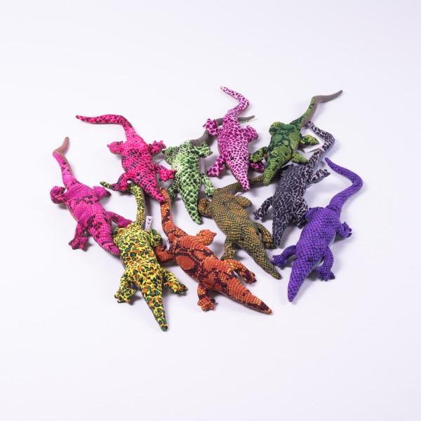 "Sandtier ""Krokodil"", mittel, multicolor, L 30 cm"