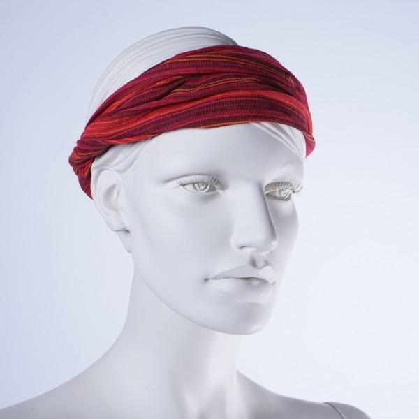 Haarband 'Atlanta', aus 100% Baumwolle, rot