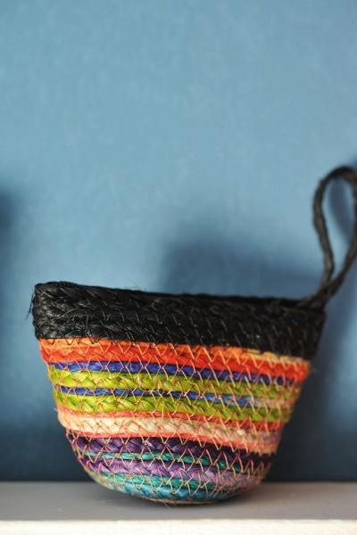 """Geldbörse """"Rainbow"""", mit Reißverschluss, multicolor/schwarz, B 10 cm, H 7 cm"""