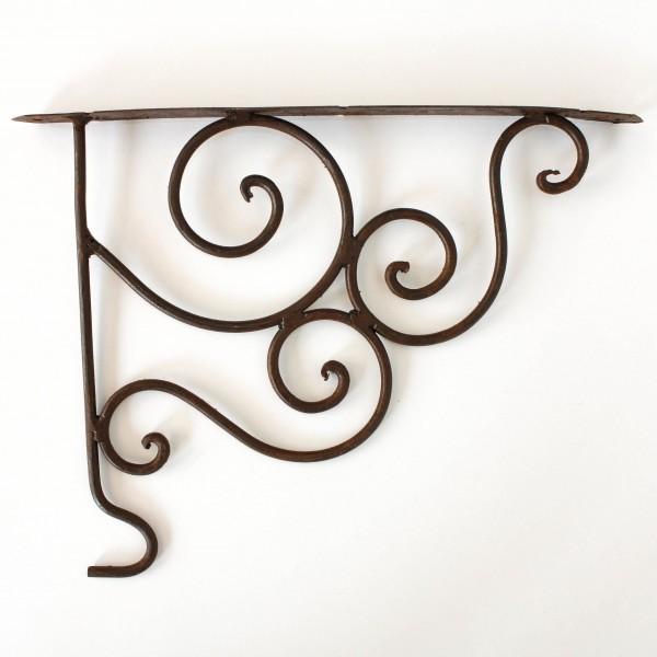 Wandhaken für Laterne, antik-rost, L 27 cm, H 28 cm