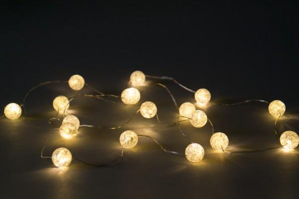 Outdoor Lichterschnur 'Dipaque', 20 LED, 190cm