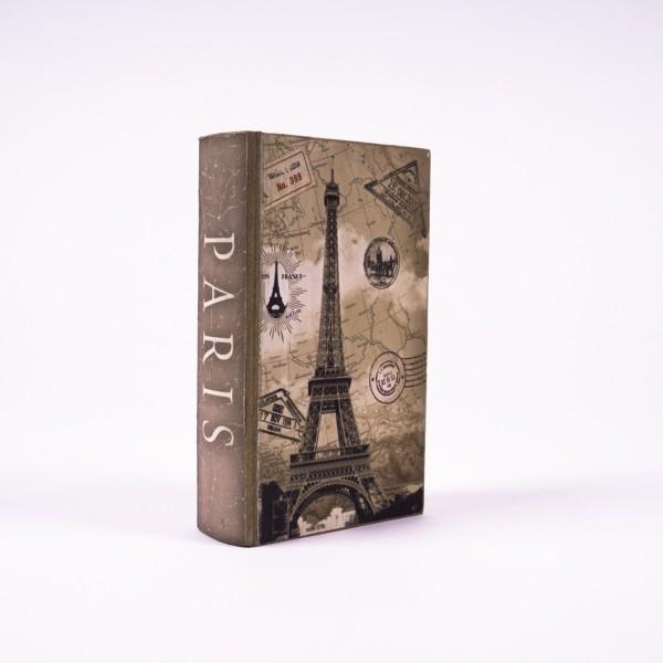 "Buchhülle ""Eiffelturm"", L 5 cm, B 13 cm, H 21 cm"