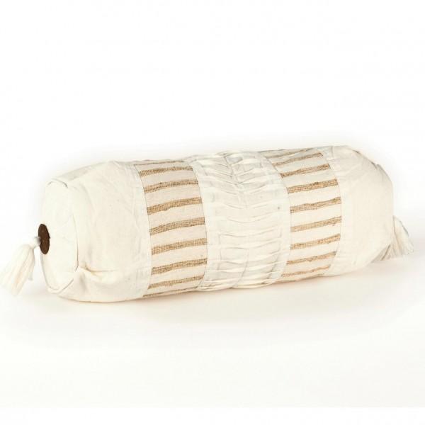 Kissenrolle, beige, B 50 cm, Ø 14 cm