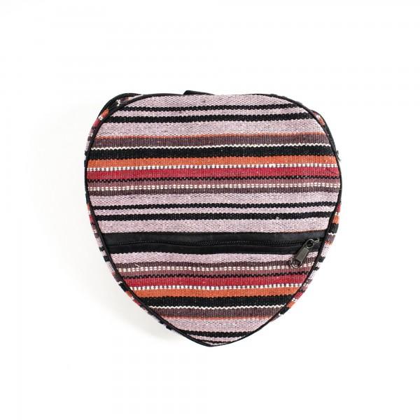 Rucksack, faltbar, multicolor, B 25 cm, H 25 cm