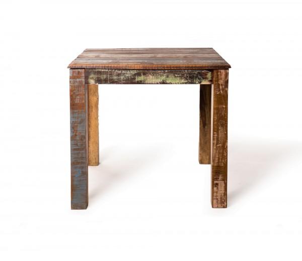 Tisch 'Jarrow Plain', natur, multicolor, T 80 cm, B 80 cm, H 76 cm