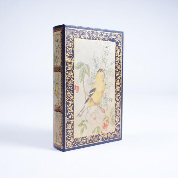 "Buch-Tresor ""Singing Bird"", L 5 cm, B 17 cm, H 26 cm"