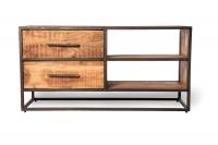 TV-Board 'Sveg', T 40 cm, B 120 cm, H 60 cm