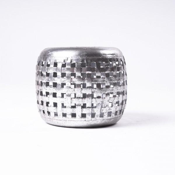 """Windlicht """"Mullewa S"""" aus Metall, Ø 11 cm, H 9 cm"""