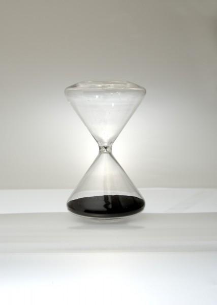 Sanduhr, 10 Minuten, Ø 9 cm, H 15 cm