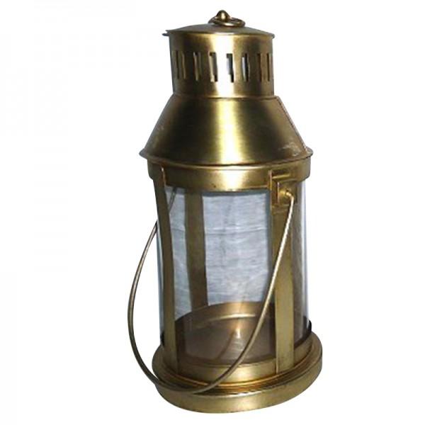 """Laterne """"Passat"""", gold, Ø 20 cm, H 38 cm"""