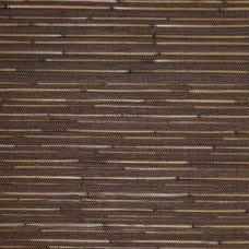 Rollo Bambus, schwarz/natur, L 200 cm, B 100 cm